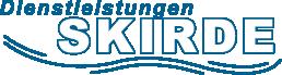 Dienstleistungen Skirde Logo