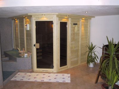 Saunabau Saunatech - Blockbohlensauna Nils