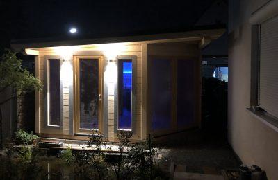 Saunabau Saunatech - Außensauna Beispiel