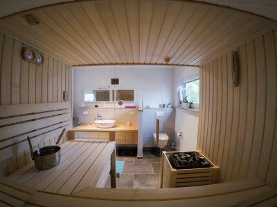 Saunabau Saunatech - Designsauna