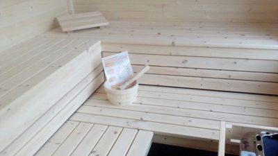 Saunabau Saunatech - Luxussauna Zirbe Design