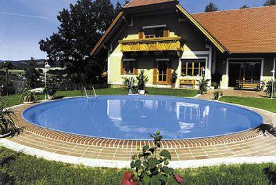 Schwimmbadbbau Saunatech - Rundpool