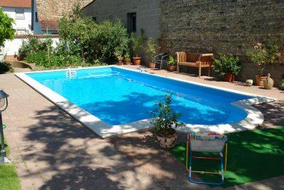 Schwimmbadbbau Saunatech - Systembecken